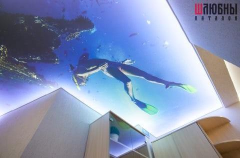 Арт потолок с подсветкой в Гомеле фото 3