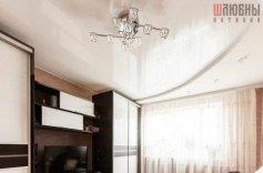 Двухуровневый потолок в гостиную в Гомеле фото 3