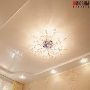 Двухуровневый потолок в спальню в Гомеле фото 1