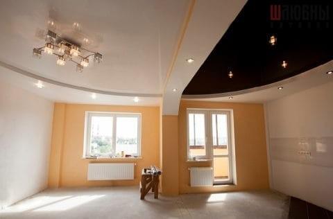Многоуровневые потолки в студию в Гомеле фото 1