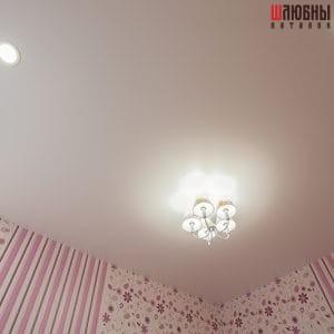 Одноуровневый потолок в детскую в Гомеле фото