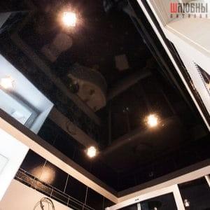 Одноуровневый потолок в ванну в Гомеле фото 3
